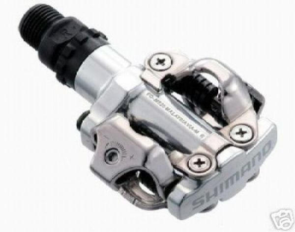 "Shimano MTB Klickpedal ""PD-M 520"" silber"