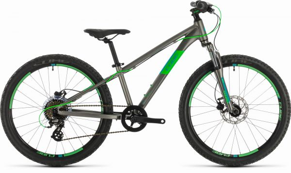 "CUBE ""Kid 240 Disc"" grey´n´flashgreen 2019"
