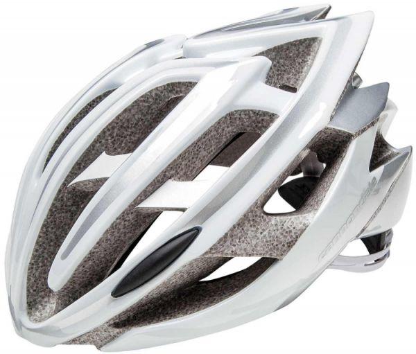 "Cannondale Rad Helm ""Teramo"" white/silver Gr. M"