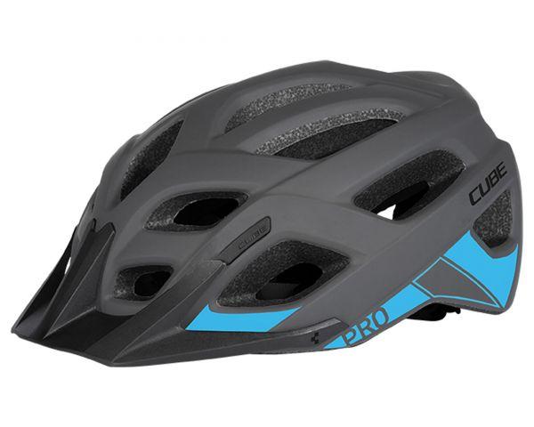 "Cube Rad Helm ""Pro"" grey 'n' blue S/M"