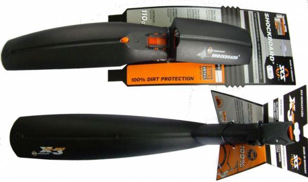 """SKS Spritzschutz-Set """"Shockboard + X-Tra dry"""" 26 - 27,5 Zoll"""