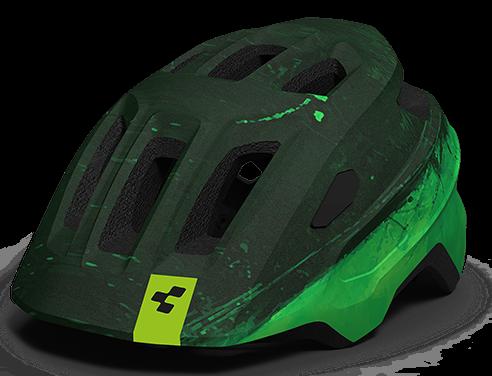 "Cube Junior Helm ""Talok"" green"