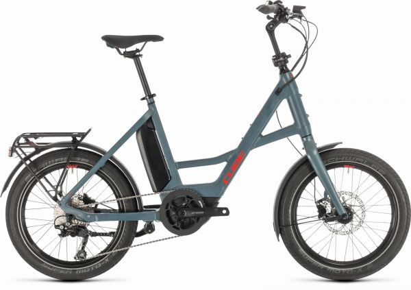 """CUBE """"20"""" Compact Sport Hybrid"""" blue´n´red 2020"""