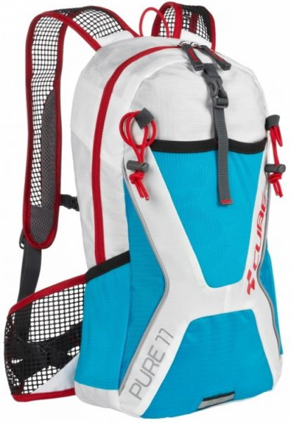 "Cube bike Rucksack ""Pure 11"" white´n´blue"