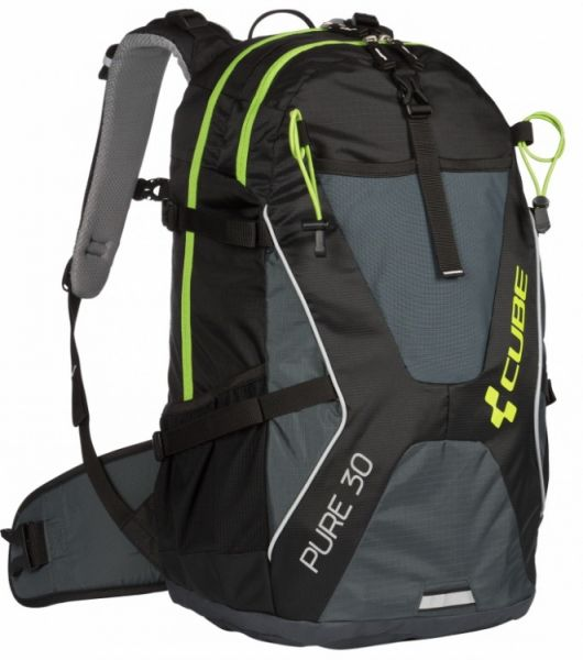 "Cube bike Rucksack ""Pure 30"" black´n´green"