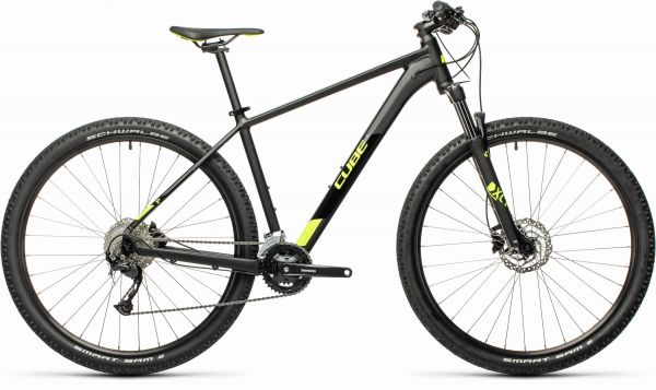"CUBE ""Aim EX"" black´n´flashyellow 2021-Testbike"