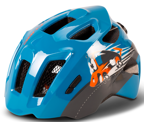 "Cube Kid's Helm ""Fink"" blue"
